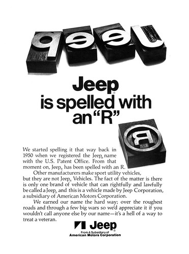Jeep Trademark Advertisement by lee.ekstrom