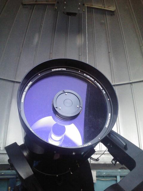 The telescope in my school.
