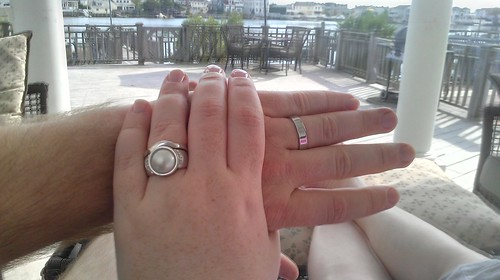 Sitting on the dock of the bay w/my new wife by howard.hall