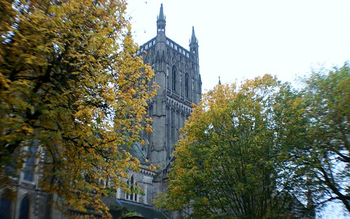 Worcester Cathedral Tower