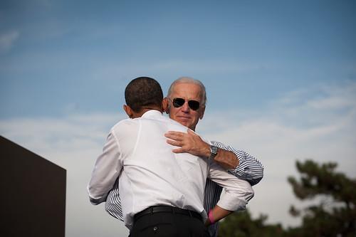 Barack Obama and Joe Biden in Dayton - October 23rd