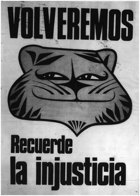 """""""VOLVEREMOS. Recuerde la Injusticia"""" Teletigre 1971"""
