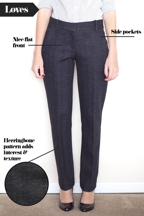 Adventures in Alterations – Theory Testra Herringbone Pant Preview
