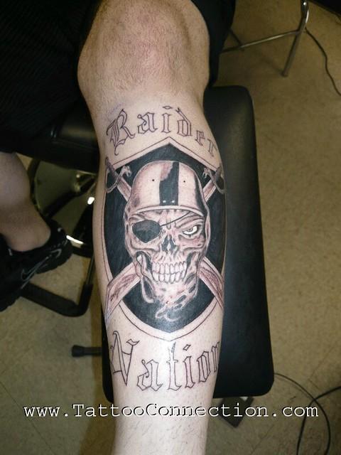 Raider nation tattoo flickr photo sharing for Raider nation tattoos