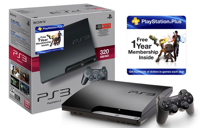 PS3 Plus Bundle