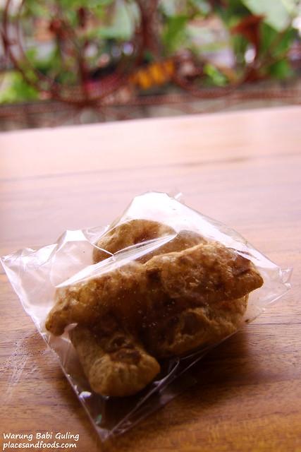 warung babi guling pork skin