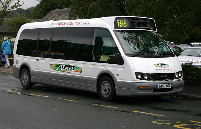 Optare Alero http://www.flickr.com/photos/jncarter1962/8127135726/