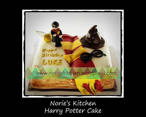 Norie's Kitchen - Harry Potter Cake by Norie's Kitchen