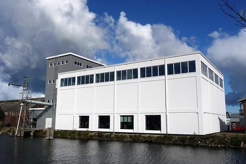 Middelburg, Kleverskerkseweg 49: silo Coöperatieve Landbouwvereniging 'Eiland Walcheren'