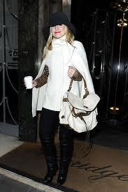 Kristen Bell Cape Coat Celebrity Style Women's Fashion