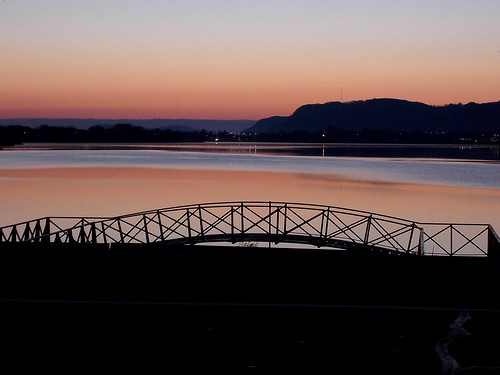 morning pink sky lake nature water minnesota landscape dawn october midwest winona