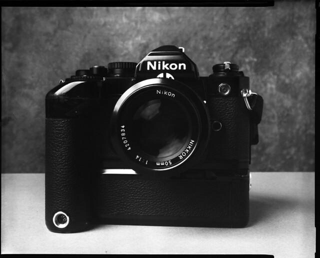 Nikon FM2n on 4x5