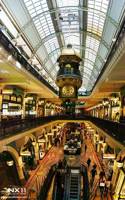queen victoria's building interior panoramic