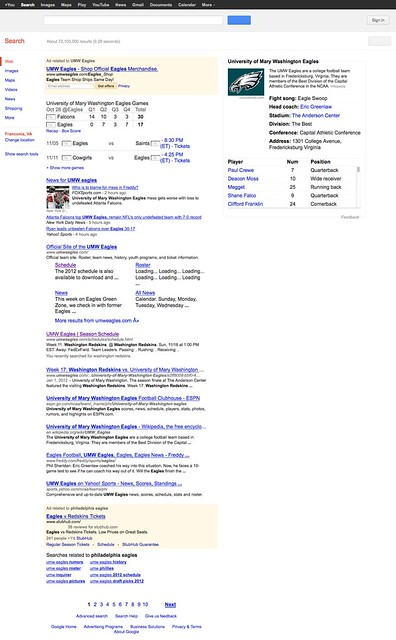 umw eagles - Google Search
