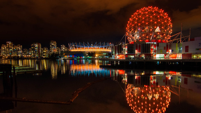 Halloween in False Creek
