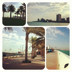 My morning walk from marina crescent to scientific center an back. 29.10.12