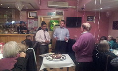 29/10/12 Fundraising dinner with supporters & 10 year celebration dinner at Cliffe Spice.