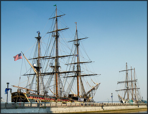 HMS Bounty & Philadelphia tall ship Gazela