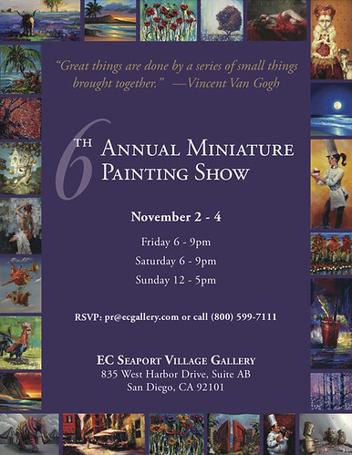 6th Annual Miniature Painting Show
