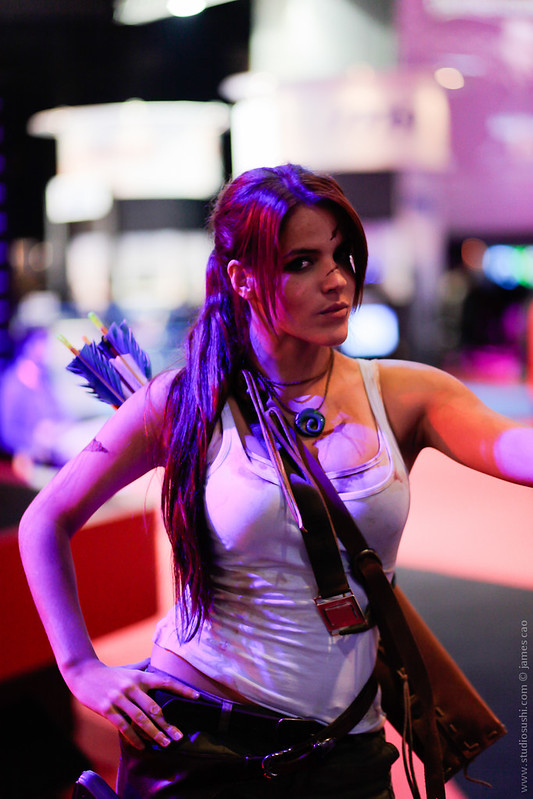 Paris Games Week 2012 | Tomb Raider Lara Croft | by Studiosushi