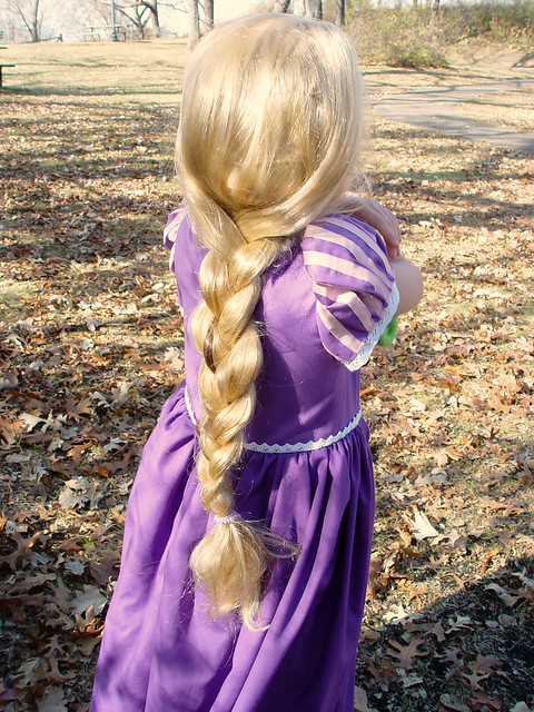 Rapunzel hair - braid