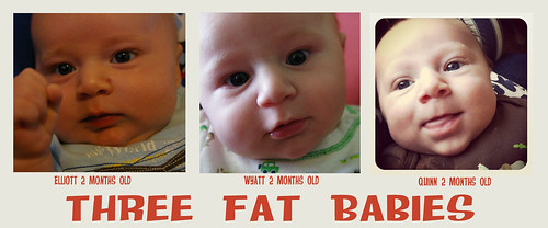 three fat babies
