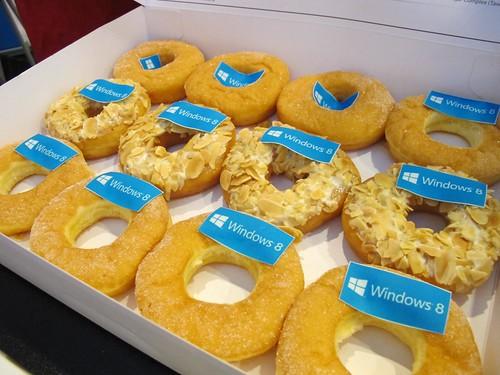 Windows 8 Donuts