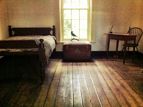 Life: Edgar Allan Poe's Room at UVA by Sanctuary-Studio