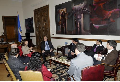 Secretario General de la OEA recibió a delegación de la Alianza Regional para la Libre Expresión e Información