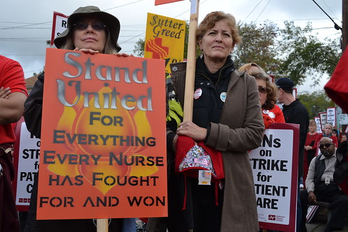 Alta Bates Sutter Medical Center Rallies