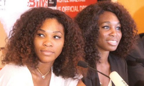 Tennis champions Serena and Venus Williams are in Nigeria to play a match in Lagos. They drew considerable attention from the national media in the West African state. by Pan-African News Wire File Photos