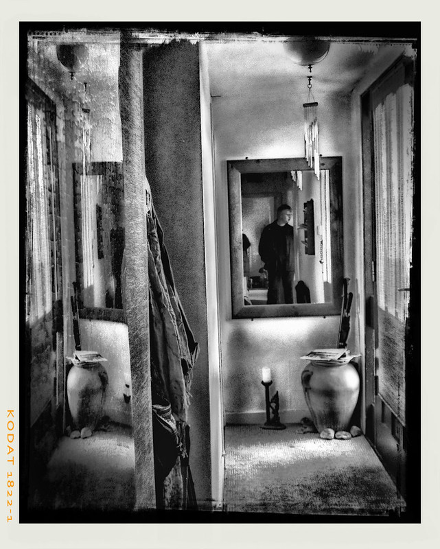 man in the mirror.... something very different from me.