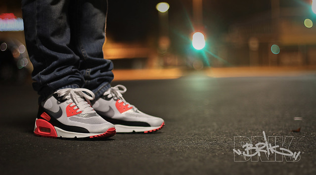 nike air max 90 hyperfuse infrared for sale
