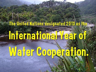 2013: International Year of Water Cooperation @Water_Decade @UNW_WWD #WorldWaterDay
