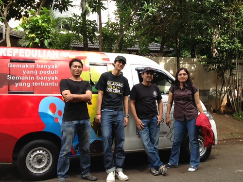 mobilKEPEDULIAN 2 support Sunda Kelapa Heritage
