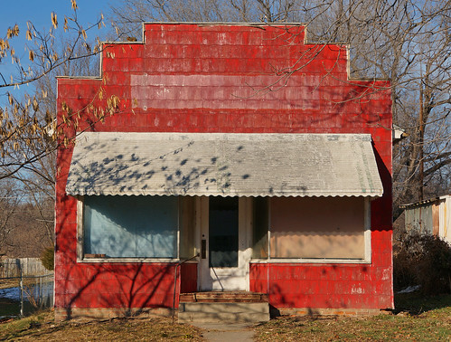sunset red usa classic awning store 60s aluminum midwest shadows unitedstates antique sony memories rusty landmark retro neighborhood heartland forgotten missouri western weathered glowing prairie fading roadside grocery crusty screendoor saintjoseph tattered relic dodgecity ducktape littlestore 2013 sunbeambread fotoedge bobtravaglione nex6 sonynex6 alphanex6 roadtrlp