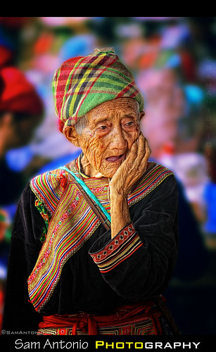 Hi-Ho, Hi-Ho, it's off to Bac Ha Market we go! by Sam Antonio Photography