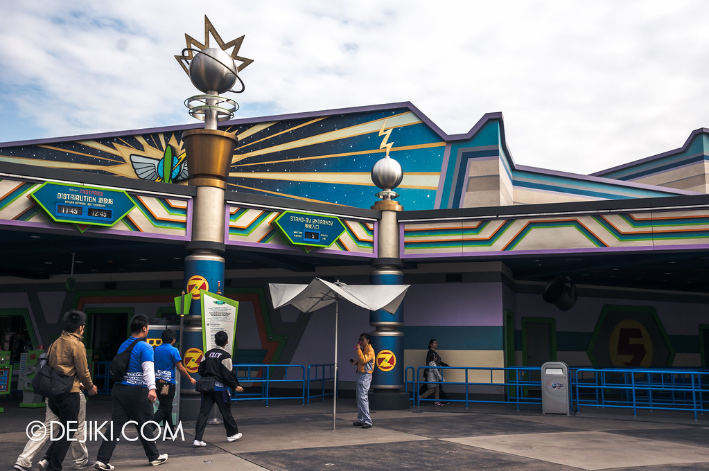 Buzz Lightyear AstroBlasters entrance