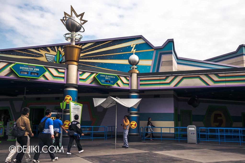 Buzz Lightyear AstroBlasters entrance