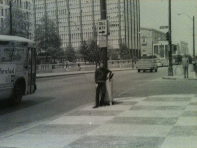 HOT COP BOI Terry in Downtown Memphis in the 60s