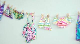Mini swimwear line