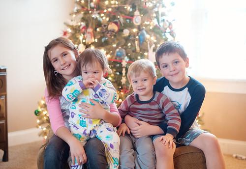 Anna, Clara, Eli and Noah