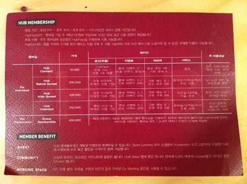 HUB Seoul Membership
