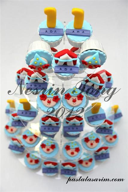 circus cupcakes (Medium)