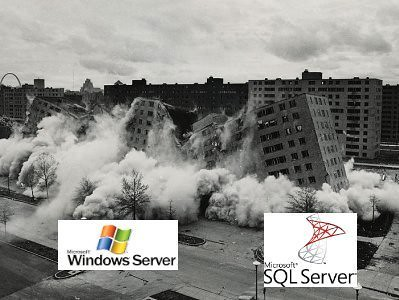 MS platform business collapses