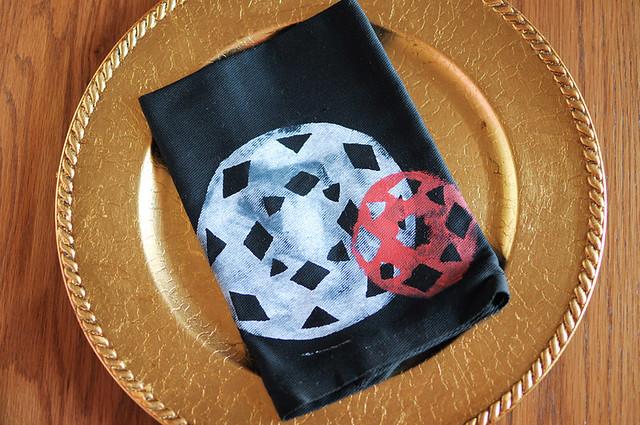 eg's napkin design