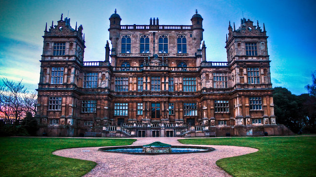 0335 - England, Nottingham, Wollaton Hall HDR