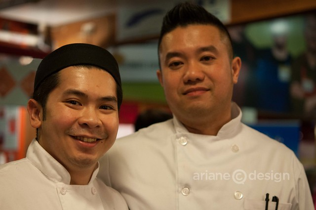 The Sandbar represents. R: Executive Chef William Tse