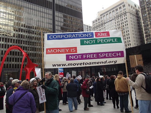 Money Out Voters In, Chicago 1/19/13