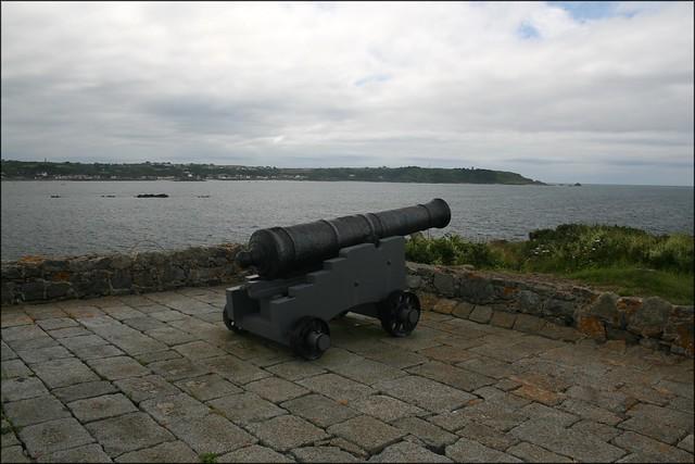 Fort Saumarez at L'Eree Headland